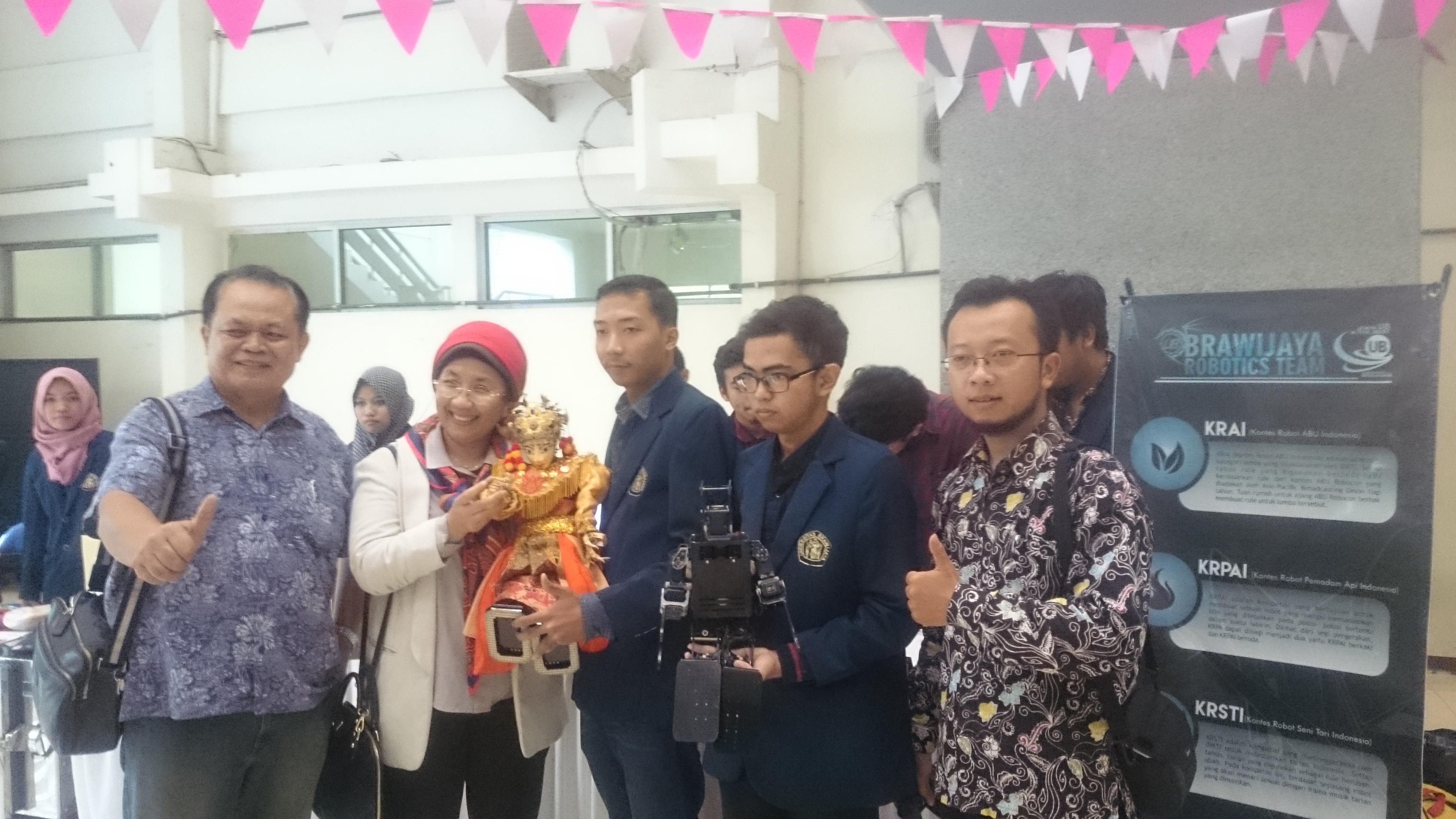 Expo Karya - Robotic - FTP UB 2017