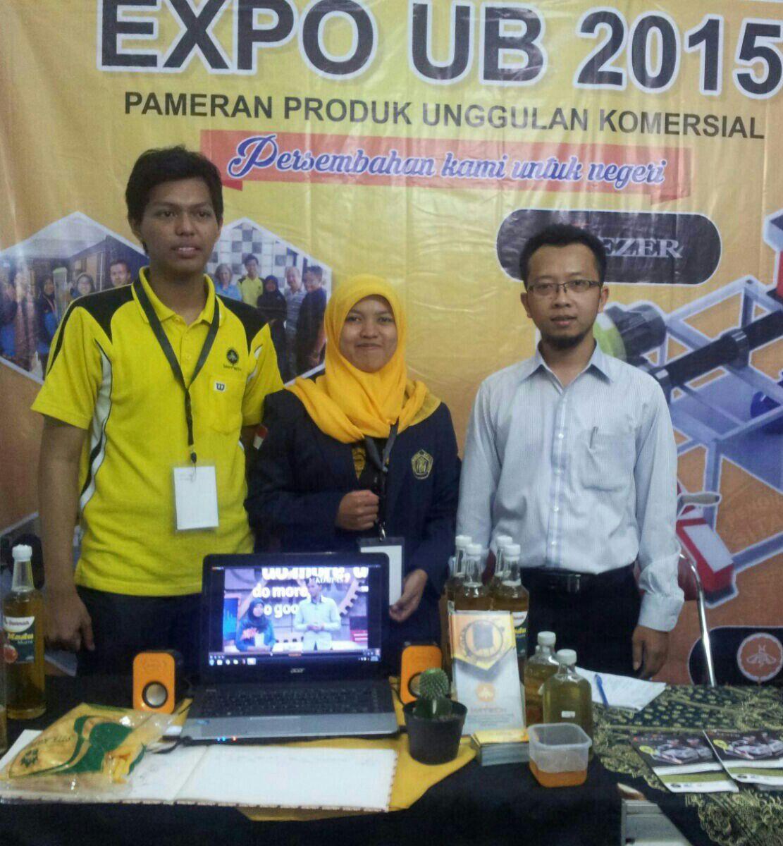 Expo UB 2015 Sakri Madu