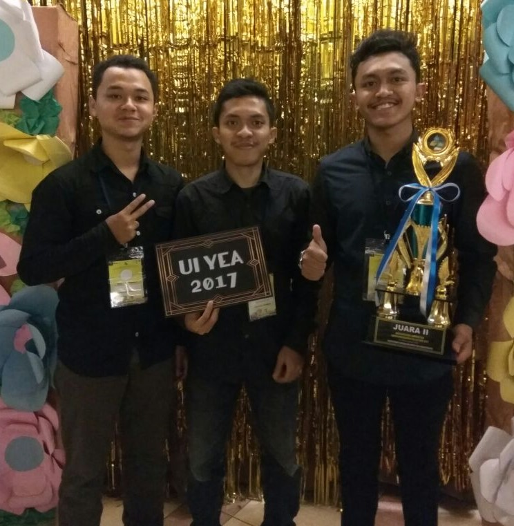 Tim PCP REPAIRMENT dalam UI Youth Environmental Action 2017