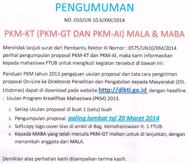 pkm GT-AI Maba Mala