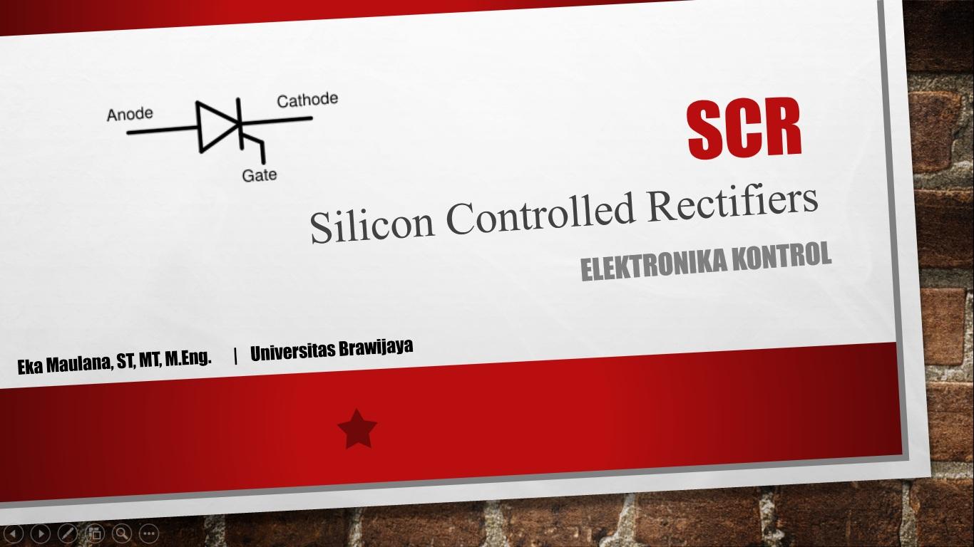SCR - Elkakon