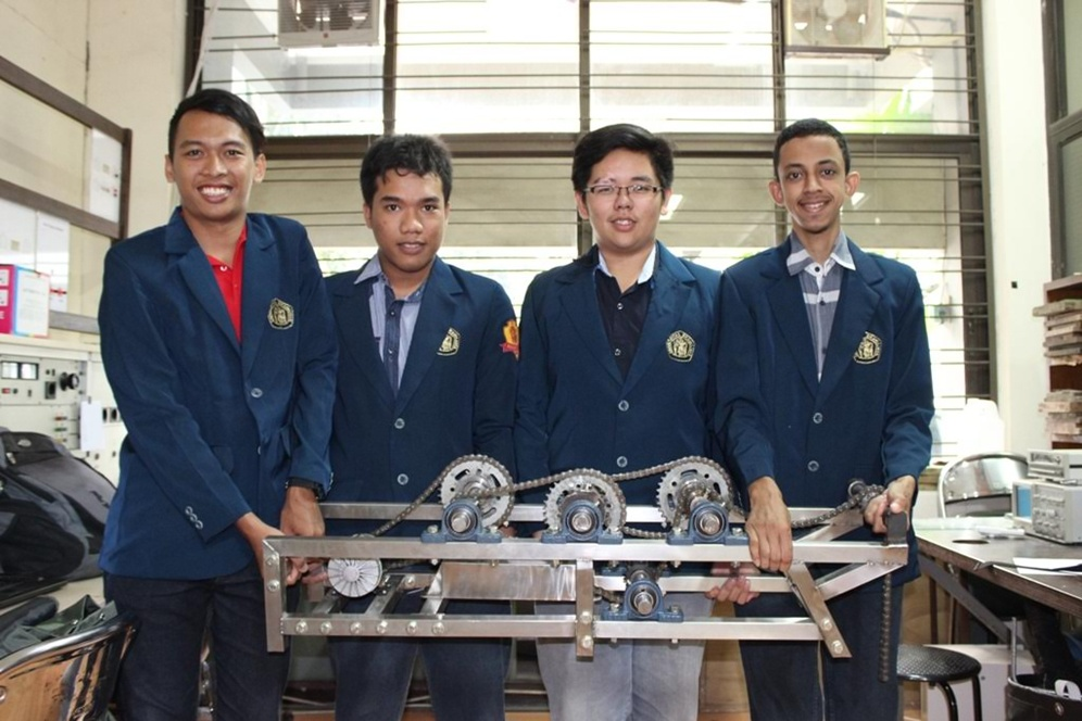 Mahasiswa UB Malang kembangkan listrik dari polisi tidur