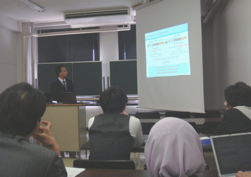 Presenter - LASER and Photonic Application (Osaka, Japan)