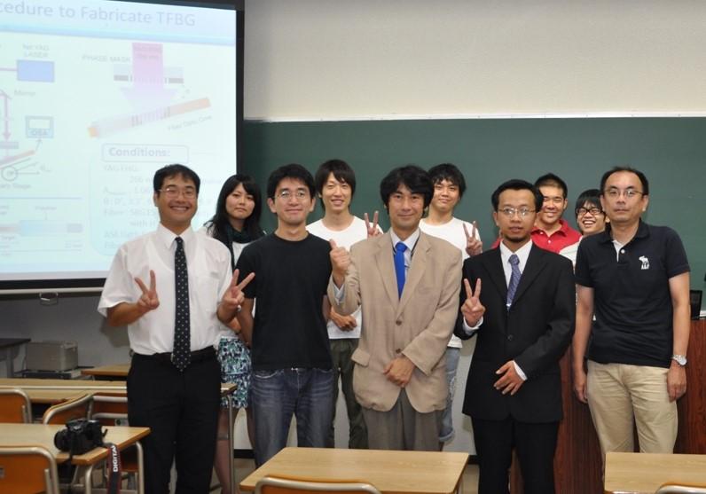Japan presentation - TFBG Sensor