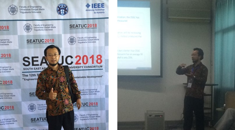SEATUC 2018 (DSSC based on Anthocyanin)